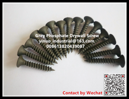 Grey Phosphate Drywall Screw China Factory 3.5x25