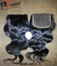 Natural Kinky Curly Lace Closure Virgin Human Hair