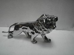 Sculpture Aluminium Lion