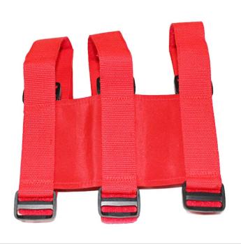 Fire extinguisher strap