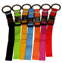 Custom fashion cross luggage strap with plastic buckle