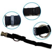 Custom fashion cross luggage strap with plastic buckle