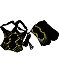 Football training auxiliary equipment soccer rebound beltFootball Training Belt