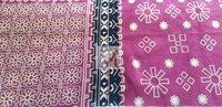 Cotton Printed Velour Fabric