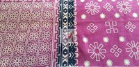 Cotton Printed Velour Fabric