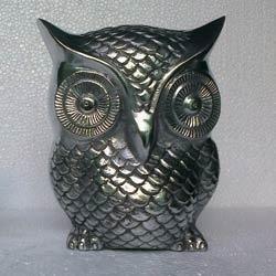Aluminum Owl Sculptures