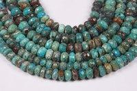 Chrysocolla Roundel Beads