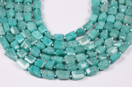 Amazonite Tumble Beads