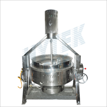 Cooking kettle with agitator