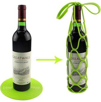 Silicone Wine Bottle Basket