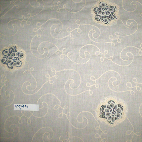 Cutwork Embroidery Patchwork Fabric