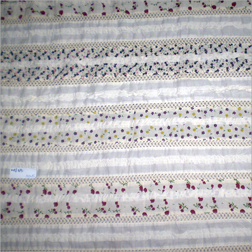 Fancy Patchwork Natural Prints Fabric