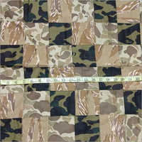 Camoflage Patchwork Fabric