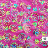 Batik Embroidery Fabric