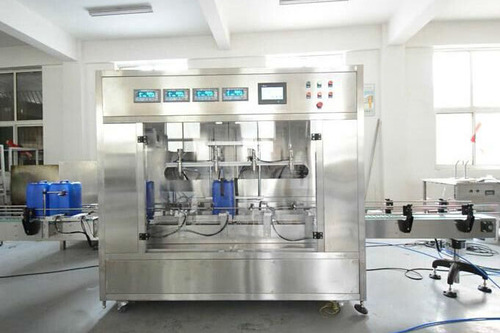 Automatic Oil Weighing And Filling Machine