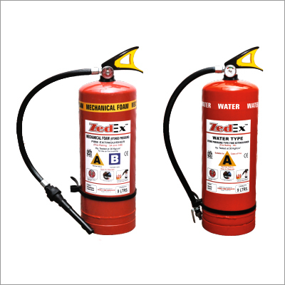 Foam & Water Type Stored Pressure Extinguisher