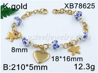 Wholesale stainless steel women bracelet new design stainless steel bracelet customized