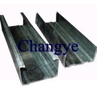 Prefab steel house frame profiles steel stud