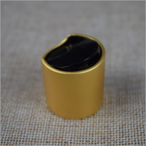 Plastic Golden Disc Top Cap