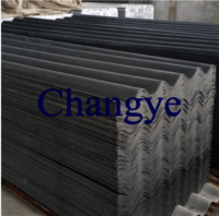 Asbesto free corrugated cement roof tile