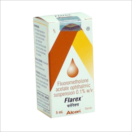 Flarex Fluorometholone Eye Drops