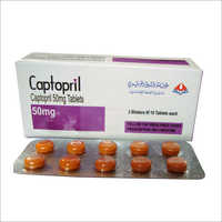 Captopril 50 mg Tablets