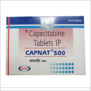 Capnat Capecitabine 50mg Tablets
