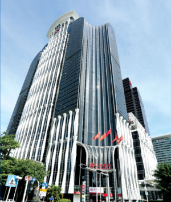 Financial building Curtain wall