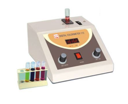 Digital Photoelectric Colorimeter with 8 Filters (1ml)