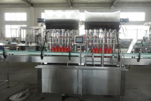 Automatic Piston Pump Oil Filling Machine