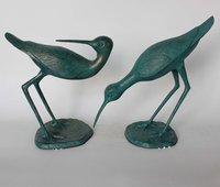 铝动物雕像