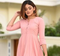 Beautiful Causal Wear Frock