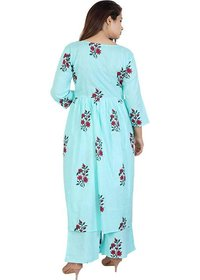 Flower Printed Kurti With Palazzo