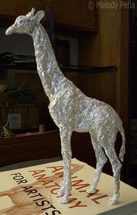 Aluminum Horse Sculpture 16496