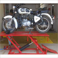 Royal Enfield Pneumatic Two Wheeler Lift