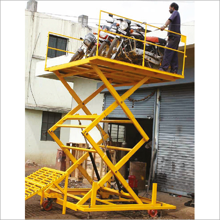 Vehicle Loading & Unloading Hydraulic Lift