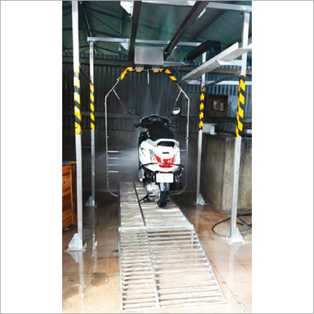 Automatic Bike Washing System