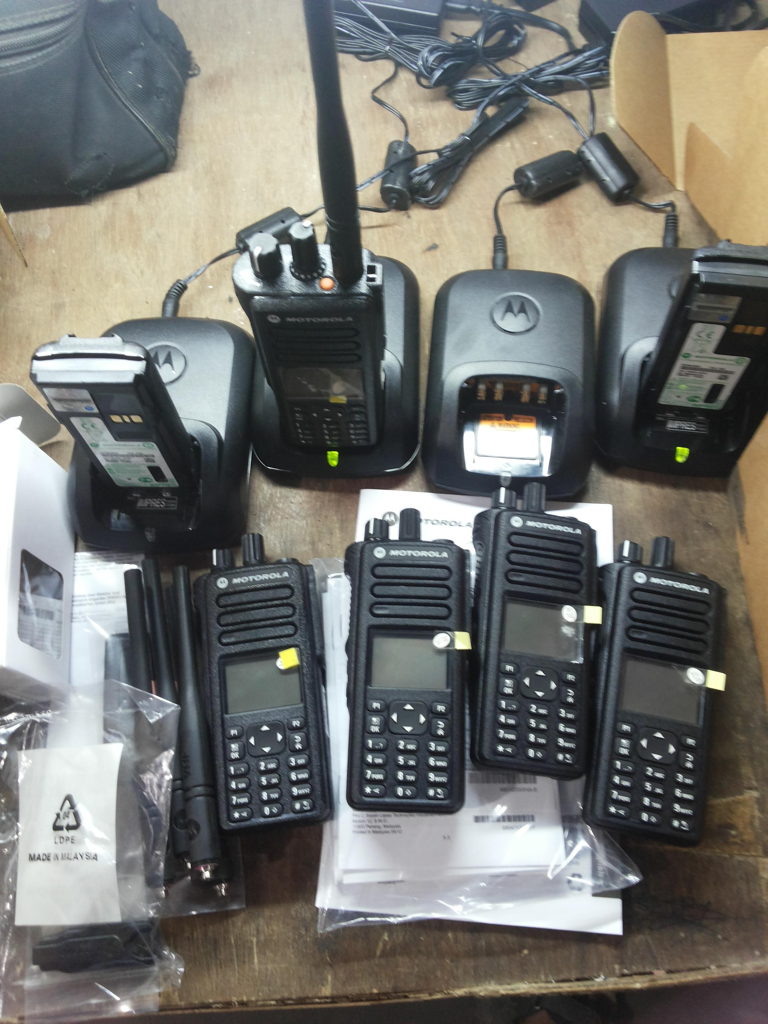 Explosion Proof VHF Radio Set