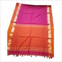 Linen Batik Saree