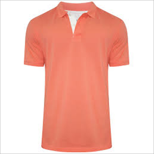 Plain Mens Collar T Shirts