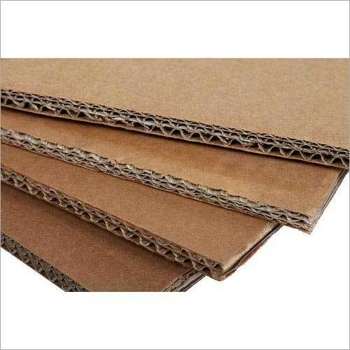 Brown Paper Corrugated Sheet