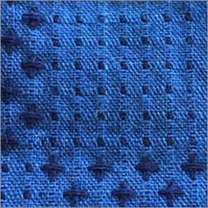 Indigo Jacquard Fabric