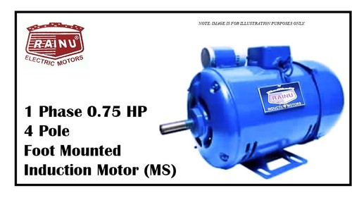 1 PHASE 0.75 HP MOTOR