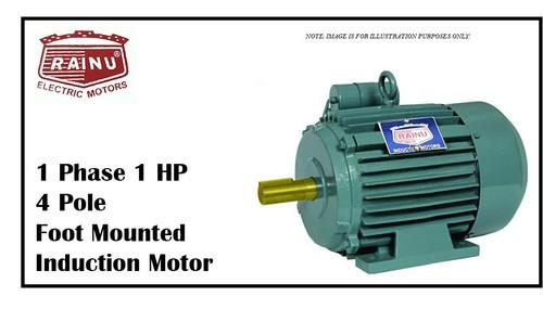 1 PHASE 1 HP CAST IRON MOTOR