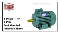1 PHASE 1 HP CAST IRON MOTOR