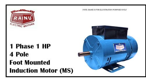 1 PHASE 1 HP METAL SHEET MOTOR