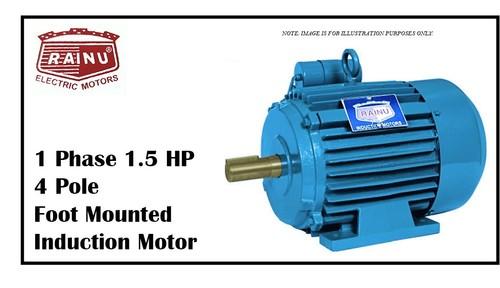 1 PHASE 1.5 HP CAST IRON MOTOR