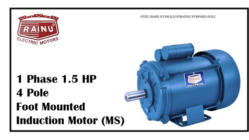 1 PHASE 1.5 HP METAL SHEET MOTOR