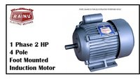 1 PHASE 2 HP CAST IRON MOTOR