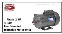 1 PHASE 2 HP METAL SHEET MOTOR